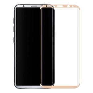 Купить Защитное стекло Full Cover Glass Gold для Samsung Galaxy S8 Plus