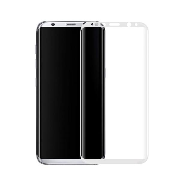 Защитное стекло oneLounge Full Cover Glass White для Samsung Galaxy S8
