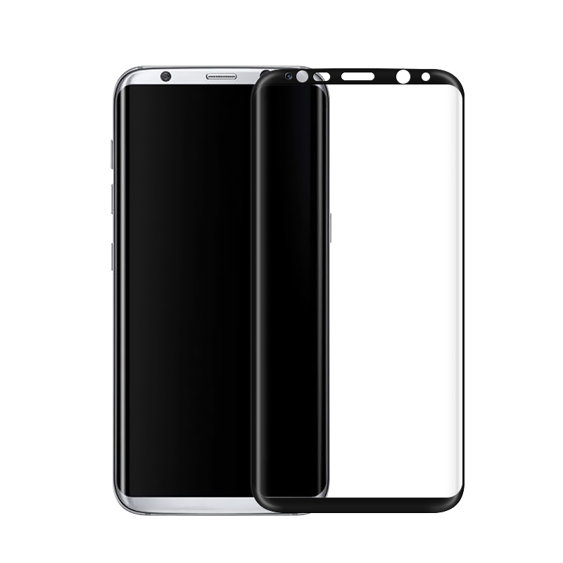 Купить Защитное стекло oneLounge Full Cover Glass Black для Samsung Galaxy S8