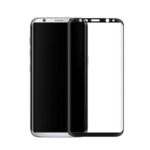 Защитное стекло oneLounge Full Cover Glass Black для Samsung Galaxy S8