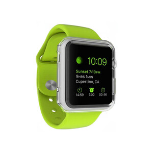 Купить Прозрачный TPU чехол G-Case 0.6mm для Apple Watch Series 1 & 2 38mm