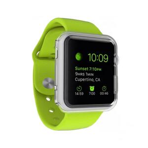 Купить Прозрачный TPU чехол G-Case 0.6mm для Apple Watch Series 1 & 2 42mm