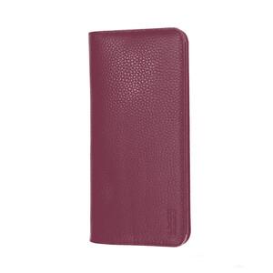 """Купить Чехол из натуральной кожи G-Сase Elegant Series Wallet Purple для смартфонов 6"""""""