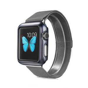 Купить Чехол G-Case Shiny Series Grey для Apple Watch Series 1 38mm