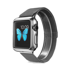 Купить Чехол G-Case Shiny Series Silver для Apple Watch Series 1 38mm