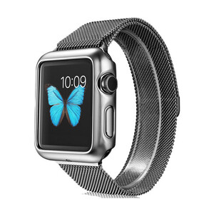 Купить Чехол G-Case Shiny Series Silver для Apple Watch Series 1 42mm