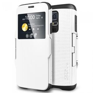 Купить Чехол Spigen SGP Slim Armor View White для Samsung Galaxy S5