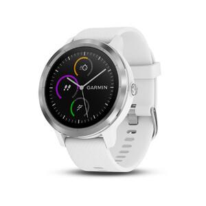 Купить Умные беговые часы Garmin Vivoactive 3 White/Stainless