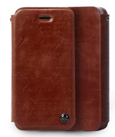 ZENUS Masstige Lettering Diary для iPhone 5/5S/SE