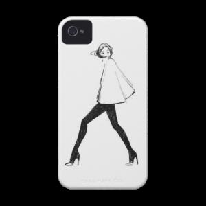 Купить Чехол BartCase Girl для iPhone 4/4S