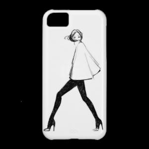 Купить Чехол BartCase Girl для iPhone 5C