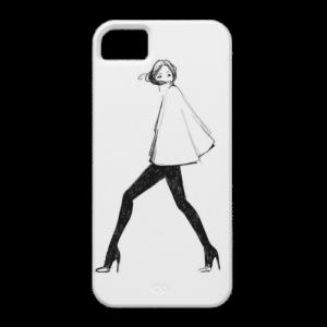 Купить Чехол BartCase Girl для iPhone 5/5S/SE