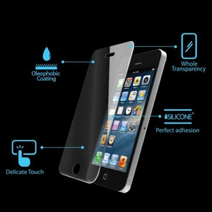 Защитное стекло SPIGEN GLAS.t для iPhone 5/5S/5C