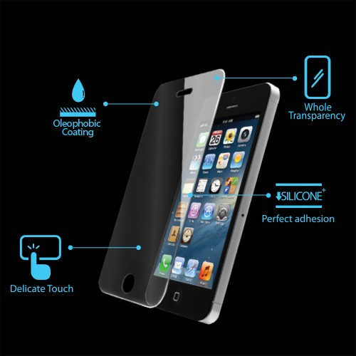 Защитное стекло SPIGEN GLAS.tR для iPhone 5/5S/SE/5C