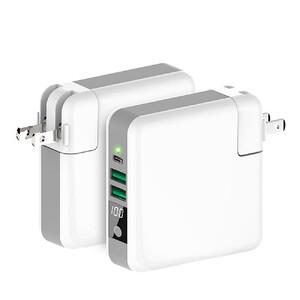 Купить Универсальное зарядное устройство с беспроводной зарядкой oneLounge Super Charger Global Travel Power Bank 6700mAh с EU адаптером