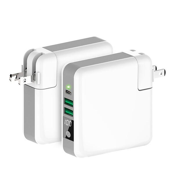 Универсальное зарядное устройство с беспроводной зарядкой iLoungeMax Super Charger Global Travel Power Bank 6700mAh + EU адаптер