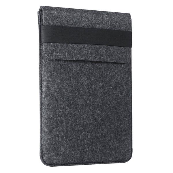 "Чехол-карман из войлока с резинкой Gmakin Dark Grey для MacBook Air 13"" (2018-2020) | Pro 13"" (2016-2020)"
