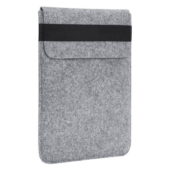 "Чехол-карман из войлока с резинкой Gmakin Grey для MacBook Pro 15"" (2016-2018)   Pro 16"" (2019)"