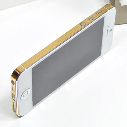 Золотая боковая пленка GVinyl для iPhone 5/5S/SE