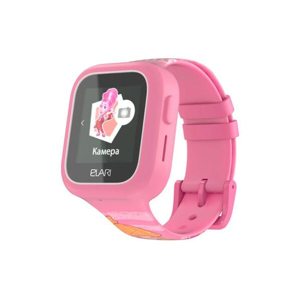 Детские смарт-часы телефон с GPS трекером Elari FixiTime Lite Pink