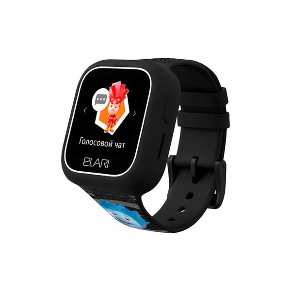 Детские смарт-часы телефон с GPS трекером Elari FixiTime Lite Black