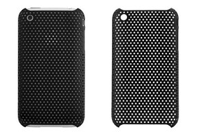 Купить Пластиковый черный чехол Grid для iPhone 3G/3GS