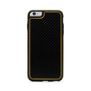 Купить Противоударный чехол с защитным стеклом Griffin Identity Black/Yellow для iPhone 6 Plus/6s Plus/7 Plus/8 Plus