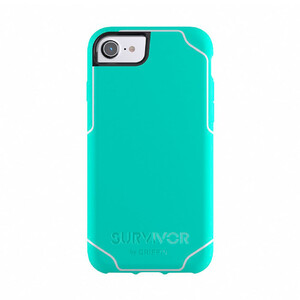 Купить Защитный чехол Griffin Survivor Journey Mint/White для iPhone 8/7/6s/6