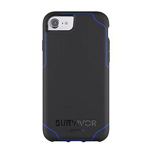 Купить Защитный чехол Griffin Survivor Journey Black/Blue для iPhone 8/7/6s/6