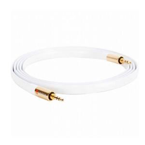 Купить Акустический кабель Griffin Premium Flat Aux Cable White 1.8m