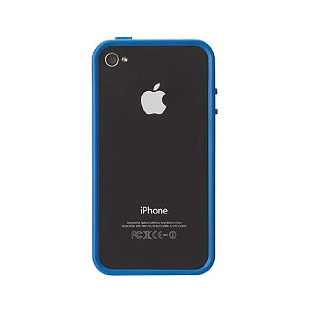 Купить Чехол-бампер Griffin Reveal Frame Blue для iPhone 4 | 4s