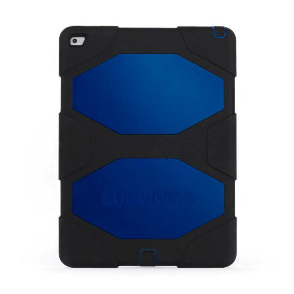 "Чехол Griffin Survivor All-Terrain Black | Blue для iPad Pro 12.9"""