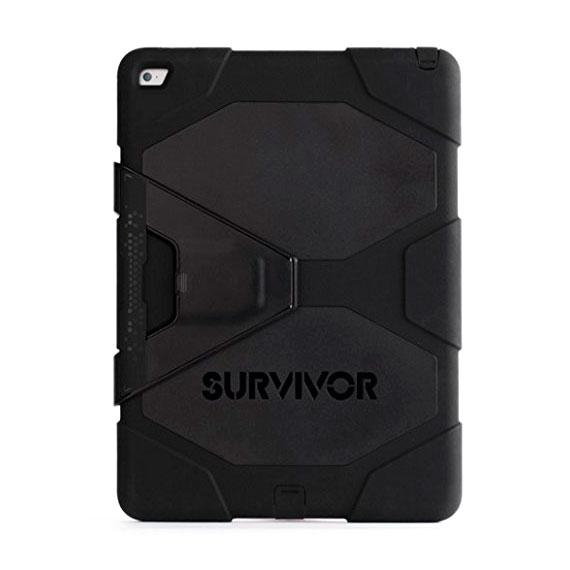"Чехол Griffin Survivor All-Terrain Black | Black для iPad Pro 12.9"""