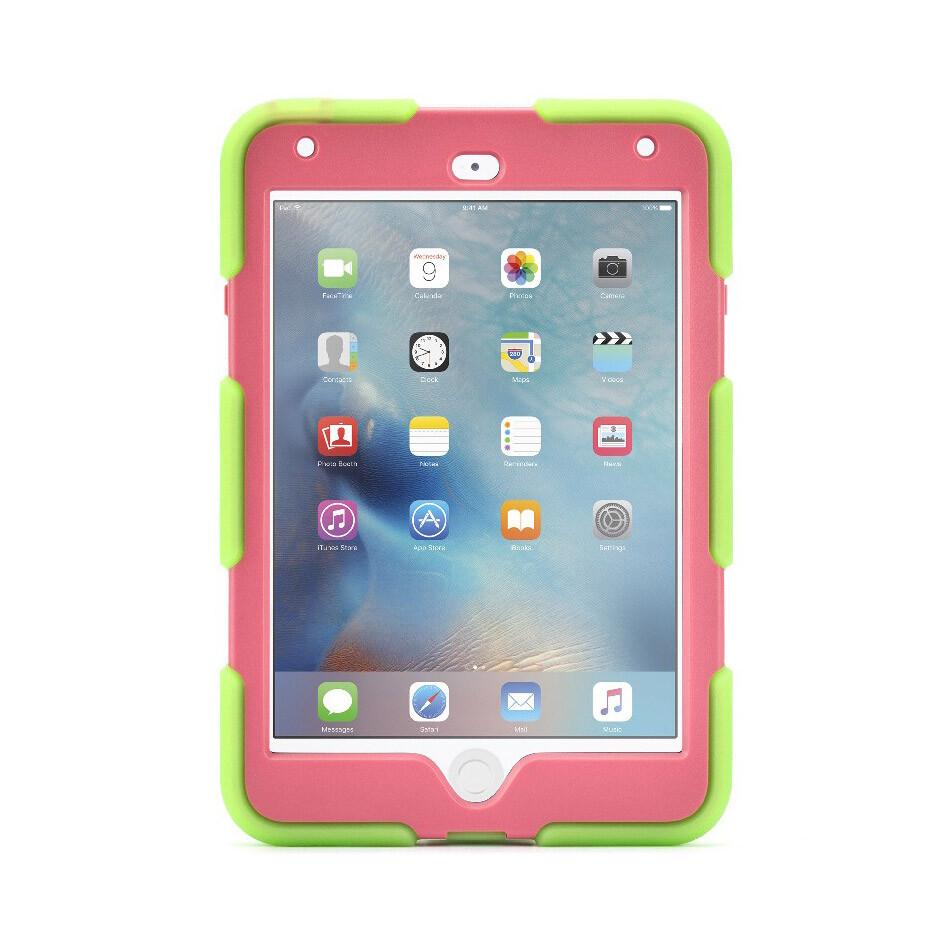 Чехол Griffin Survivor All-Terrain Green/Pink для iPad mini 4
