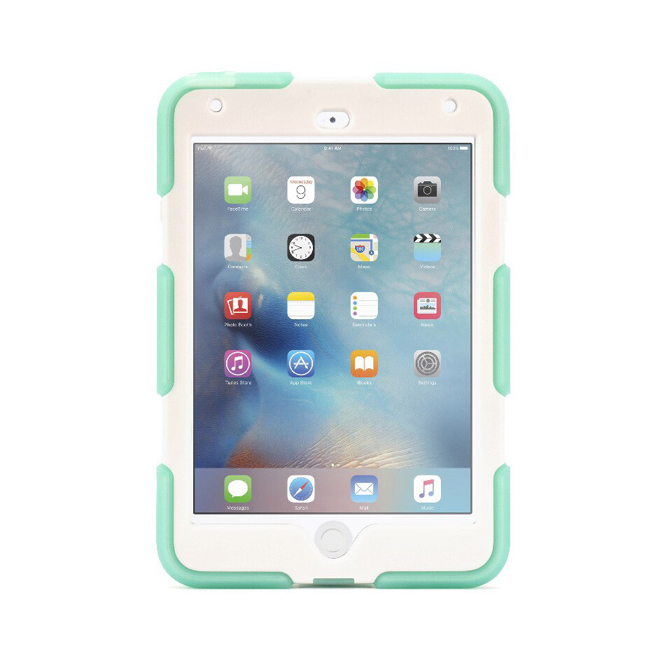 Чехол Griffin Survivor All-Terrain Mint/White для iPad mini 4