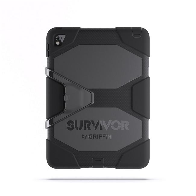 "Чехол Griffin Survivor All-Terrain Black/Black для iPad Pro 9.7"""