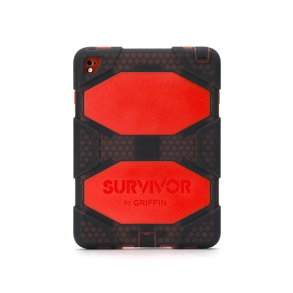 "Чехол Griffin Survivor All-Terrain Smoke/Red для iPad Pro 9.7"""