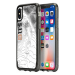 Чехол Griffin Survivor Clear: 5.11 Tactical Edition Black/Grey для iPhone X/XS