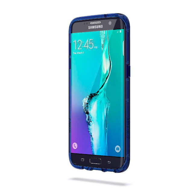 Чехол Griffin Survivor Clear Clear/Blue для Samsung Galaxy S7 edge
