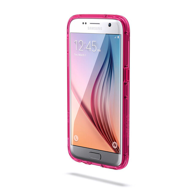 Чехол Griffin Survivor Clear Clear/Hot Pink для Samsung Galaxy S7