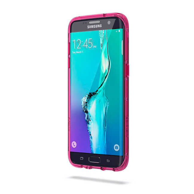 Чехол Griffin Survivor Clear Clear/Hot Pink для Samsung Galaxy S7 edge