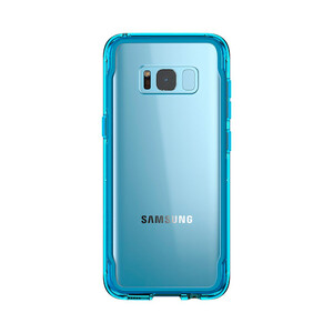 Купить Чехол Griffin Survivor Clear Coral Blue для Samsung Galaxy S8