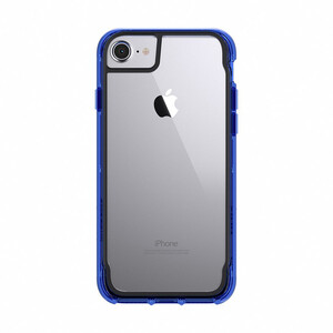 Купить Чехол Griffin Survivor Clear Clear/Blue для iPhone 8/7/6s/6
