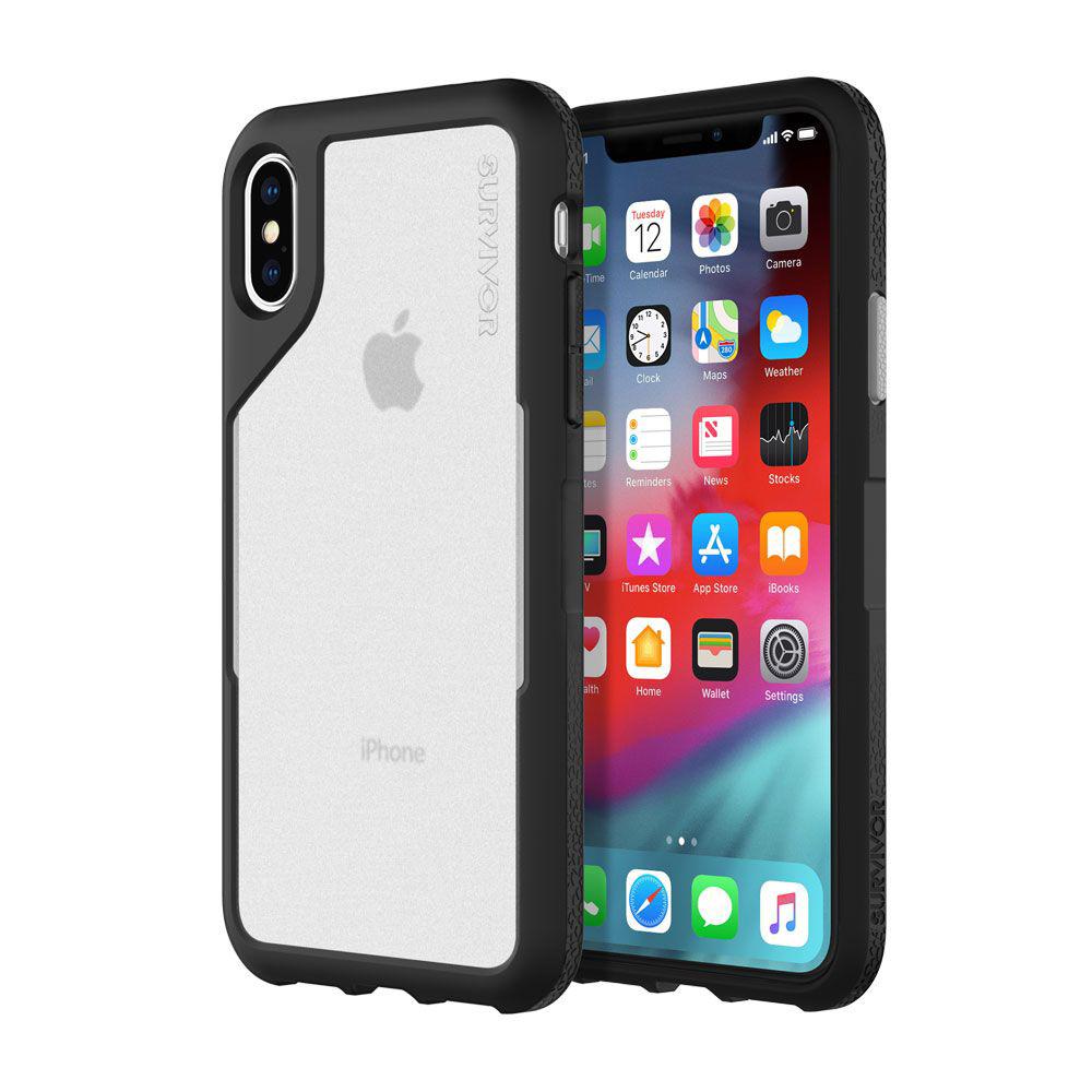 Купить Противоударный чехол Griffin Survivor Endurance Black для iPhone X   XS