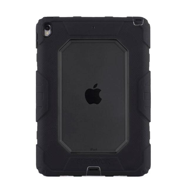 Купить Чехол Griffin Survivor All-Terrain Smoke | Black для iPad Air 3 (2019) | Pro 10.5 (Витринный образец)