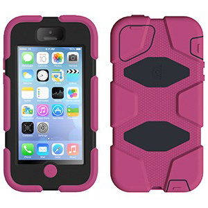Чехол GRIFFIN Survivor Pink для iPhone 5C