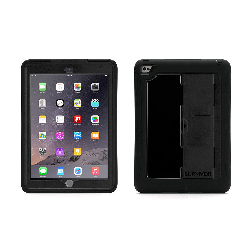 Чехол Griffin Survivor Slim Black/Black для iPad Air 2