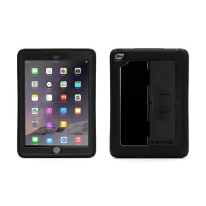 Купить Чехол Griffin Survivor Slim Black/Black для iPad Air 2