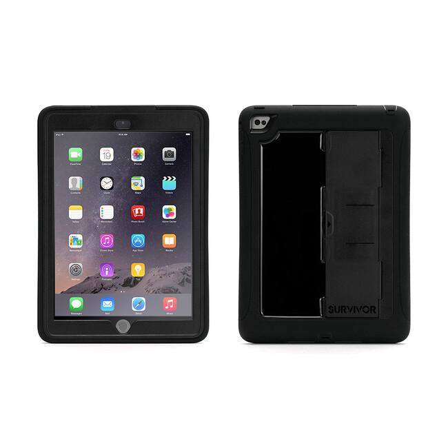 Чехол Griffin Survivor Slim Black/Black для iPad Air 2