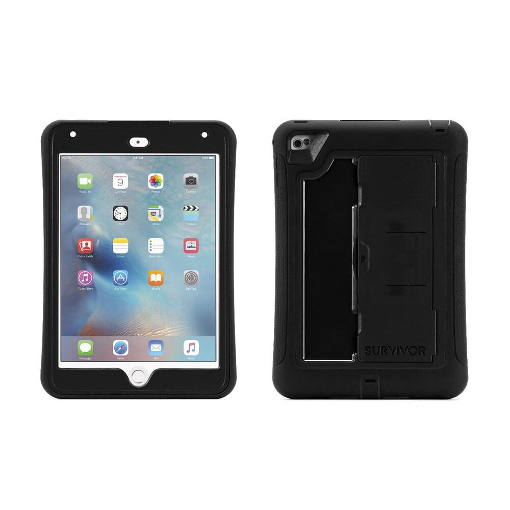 Чехол Griffin Survivor Slim Black/Black для iPad mini 4